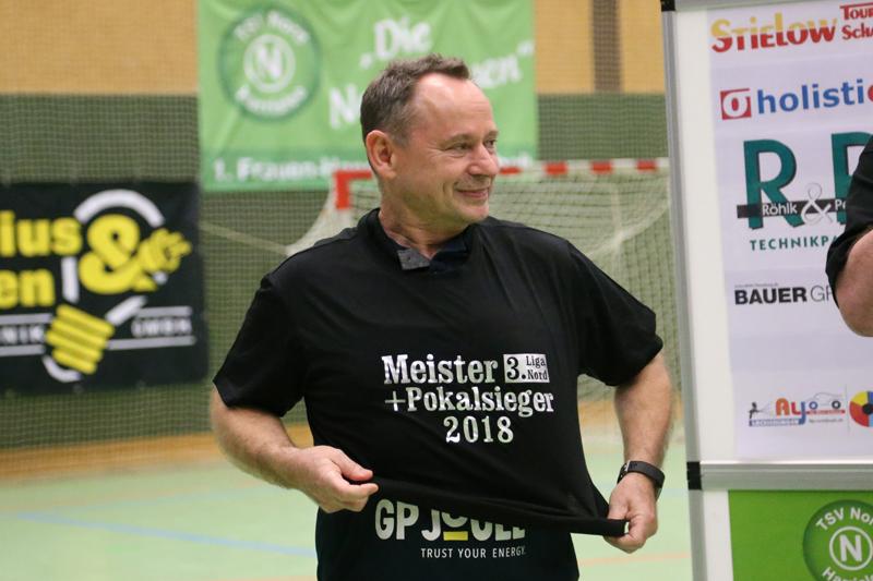"""""""Shorty"""" ganz groß: Meister und Pokalsieger 2018"""