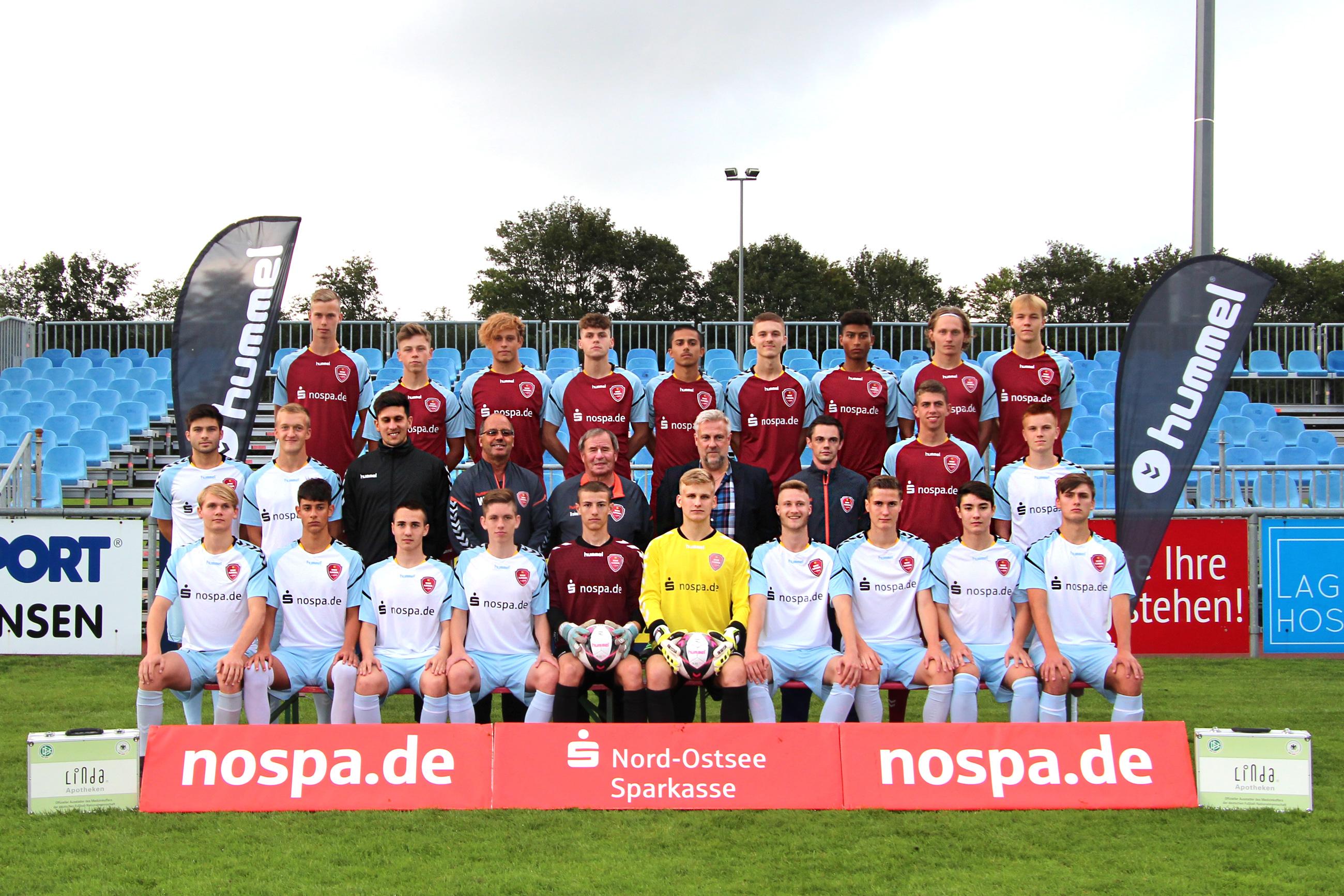 SC Weiche Flensburg 08, A-Jugend 2019/20